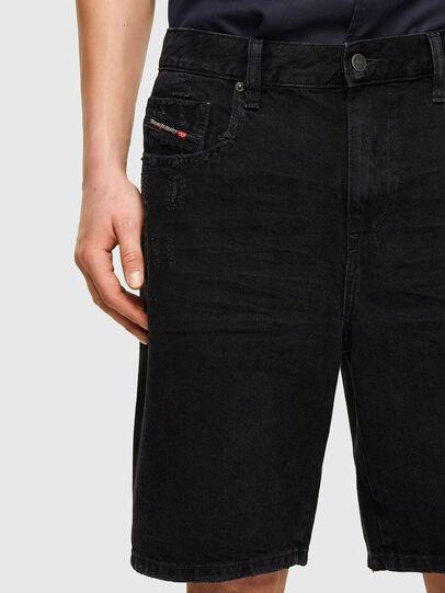 Diesel - D-STRUKT-SHORT, Black/Dark grey - Shorts - Image 3