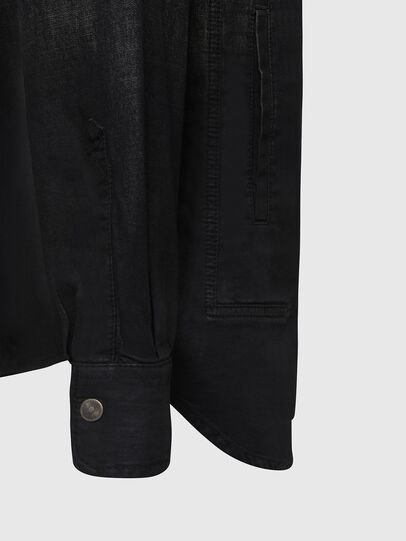 Diesel - D-NESKY, Black - Denim Shirts - Image 4
