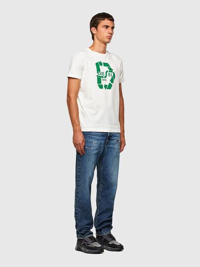 Diesel - T-DIEGOS-N23, White - T-Shirts - Image 4
