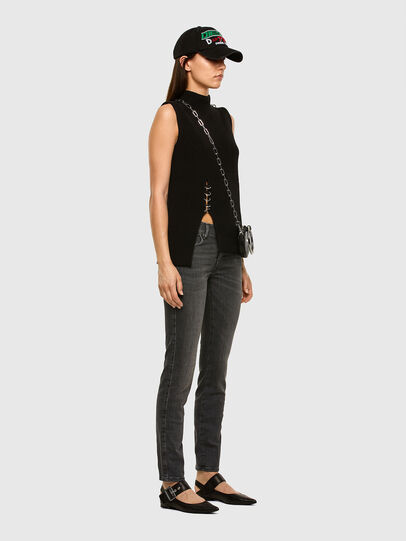 Diesel - Sandy 009FI, Black/Dark grey - Jeans - Image 5