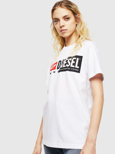 Diesel - T-DIEGO-CUTY, White - T-Shirts - Image 2