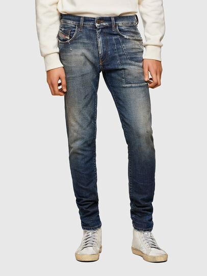 Diesel - D-Strukt 009TX, Dark Blue - Jeans - Image 1