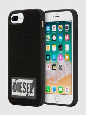 BLACK DENIM IPHONE 8 PLUS/7 PLUS/6S PLUS/6 PLUS CASE, Black - Cases