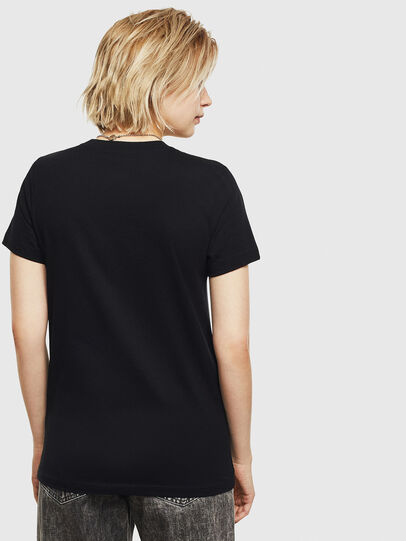 Diesel - T-SILY-S7, Black - T-Shirts - Image 2