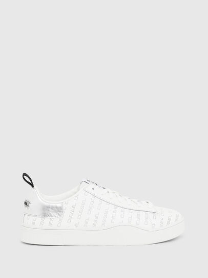 Diesel - S-CLEVER LOW LACE, White/Silver - Sneakers - Image 1