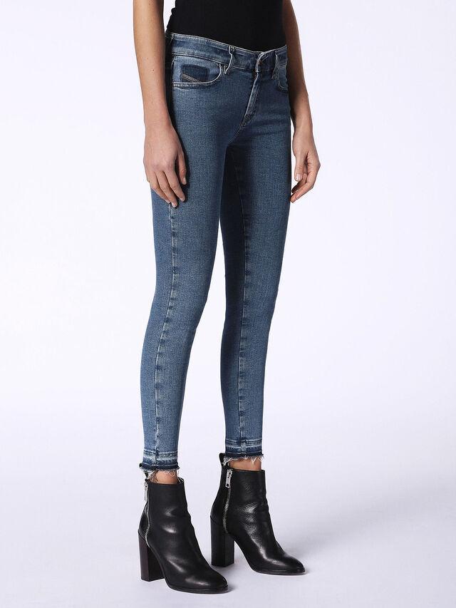 SLANDY-ANKLE-R 0699I, Blue Jeans