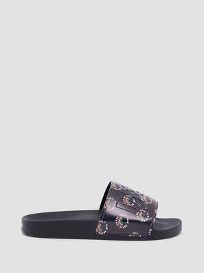 SA-VALLA W, Black - Slippers