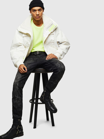 Diesel - W-OKSO, White - Winter Jackets - Image 9