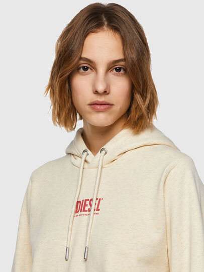 Diesel - F-ANGS-H-ECOSMALLOGO, Pink/White - Sweaters - Image 3