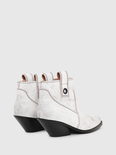 Diesel - D-GIUDECCA MAB, White - Ankle Boots - Image 3