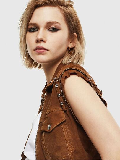 Diesel - L-TAHALI,  - Leather jackets - Image 6