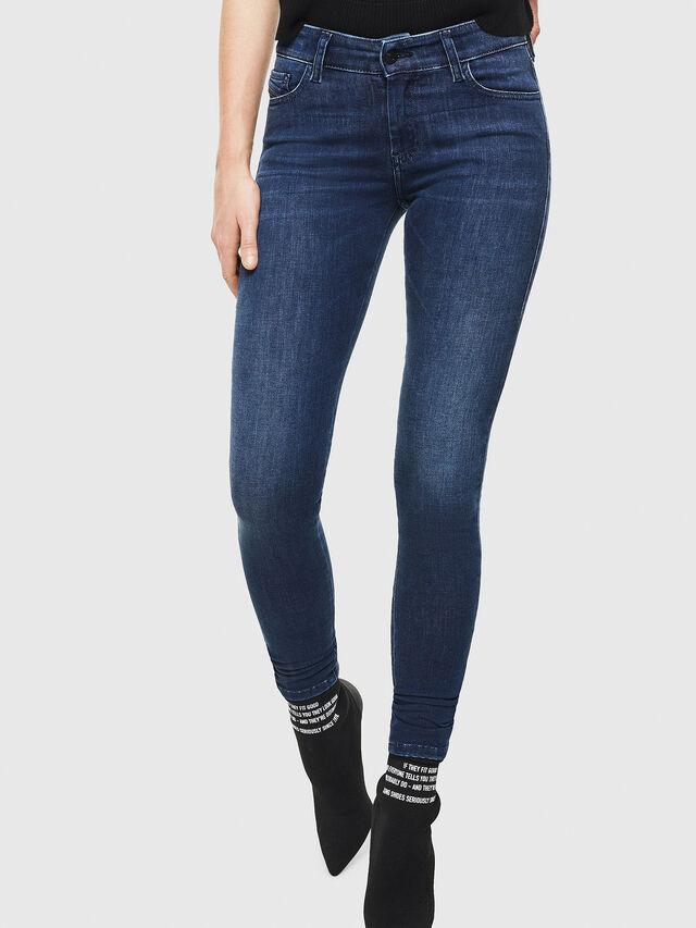 Diesel - Slandy 0890K, Dark Blue - Jeans - Image 1