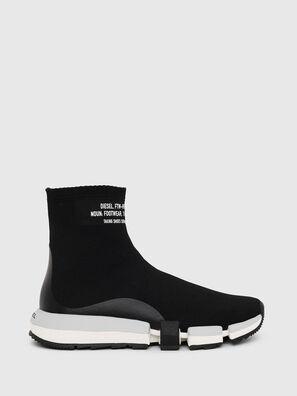 H-PADOLA HIGH SOCK W, Black - Sneakers