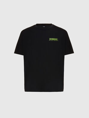 T-JUST-SLITS-X84, Black - T-Shirts