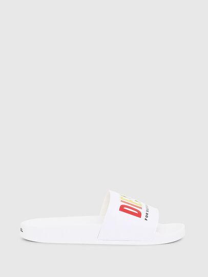 Diesel - SA-VALLA W, White - Slippers - Image 1