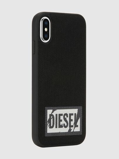 Diesel - BLACK DENIM IPHONE X CASE,  - Cases - Image 6