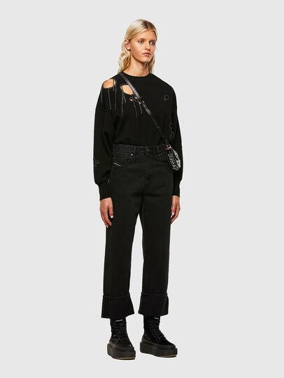 Diesel - M-ARIZONA, Black - Knitwear - Image 5
