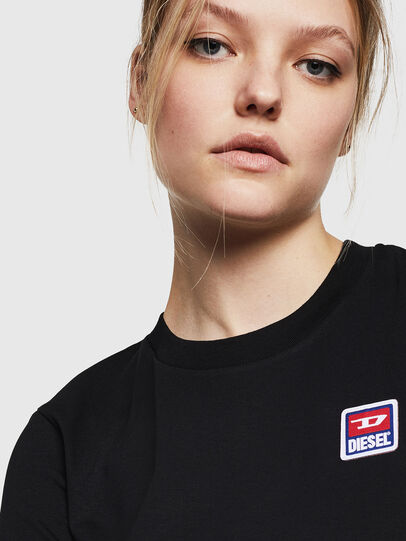 Diesel - T-SILY-ZE, Black - T-Shirts - Image 3