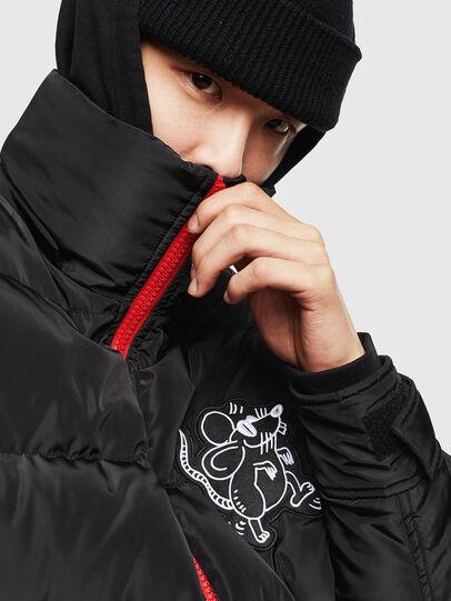 Diesel - CL-W-SMITH-LITM, Black - Winter Jackets - Image 6