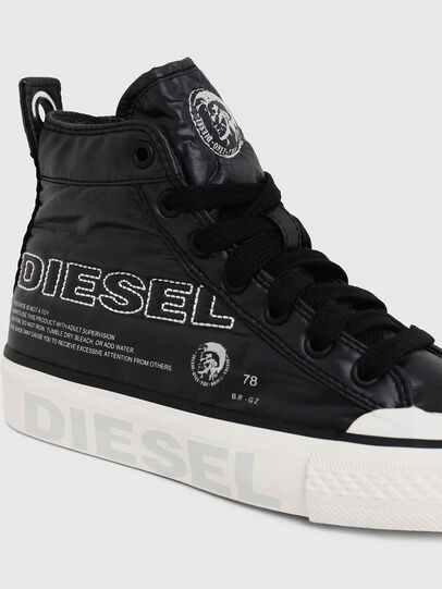 Diesel - SN MID 07 MC LOGO YO, Black - Footwear - Image 4