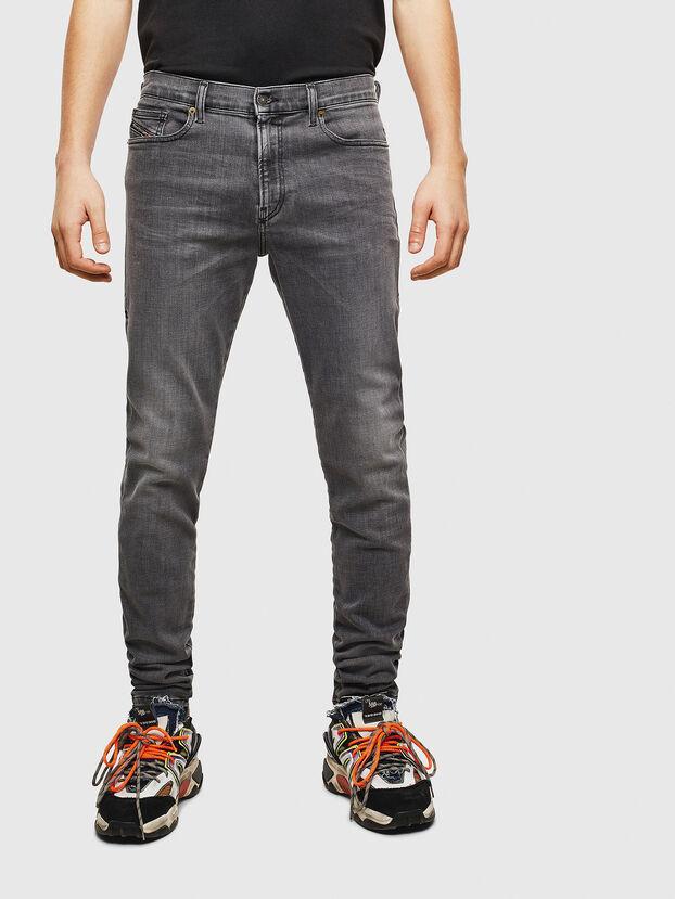 D-Amny 009AJ, Black/Dark grey - Jeans