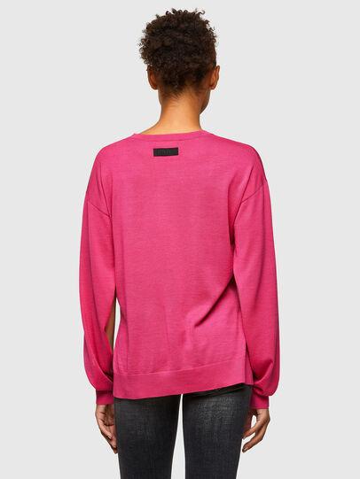 Diesel - M-JADE, Hot pink - Knitwear - Image 2