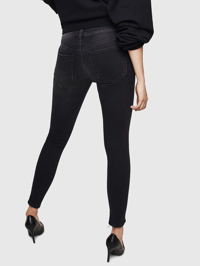 Diesel - Slandy 069BU, Black/Dark grey - Jeans - Image 2