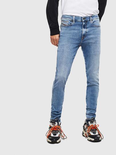 Diesel - D-Istort 009BG, Medium blue - Jeans - Image 1