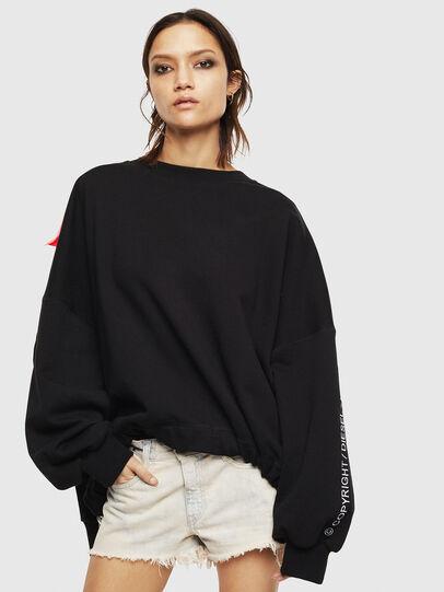 Diesel - F-JUSTIN, Black - Sweaters - Image 1