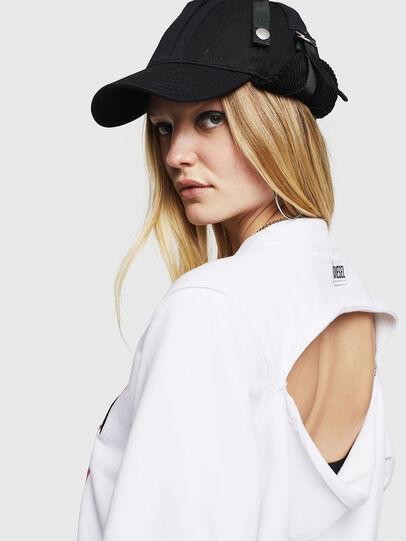 Diesel - F-LYANYDY-B, White - Sweaters - Image 4