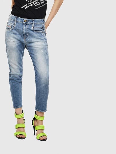 Diesel - Fayza 0099M, Medium blue - Jeans - Image 1