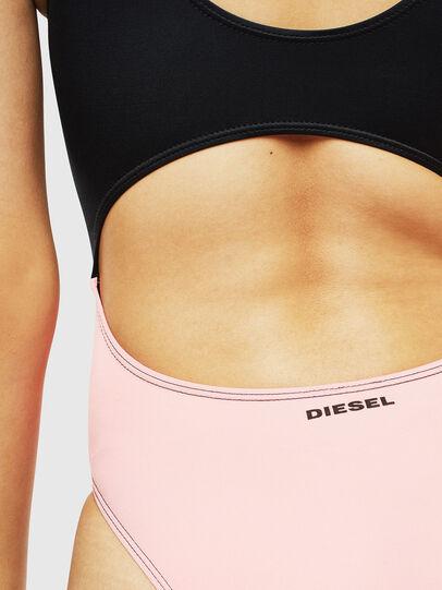 Diesel - BFSW-COURTNEY, Black/Pink - Swimsuits - Image 5