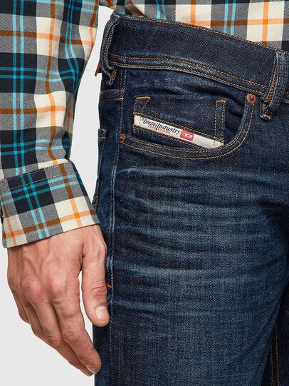 Diesel - Sleenker 09A43, Dark Blue - Jeans - Image 3