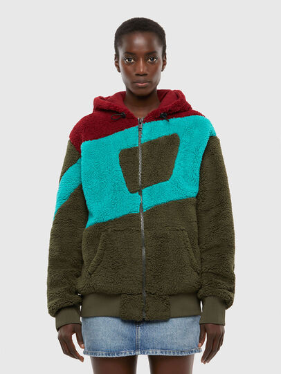 Diesel - S-ALDY, Olive Green - Sweaters - Image 2