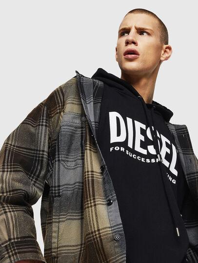 Diesel - S-MINER, Brown - Shirts - Image 3