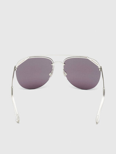 Diesel - DL0314, White/Blue - Sunglasses - Image 4
