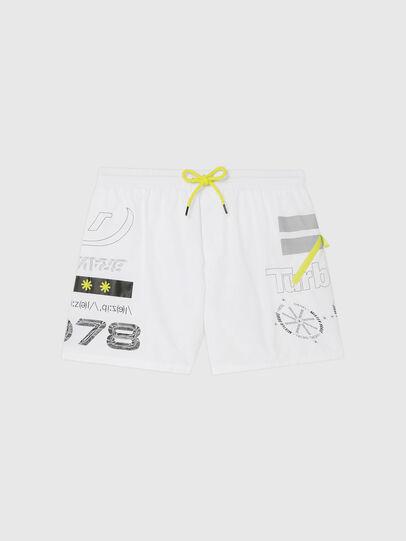 Diesel - BMBX-WAVE 2.017, White - Swim shorts - Image 4