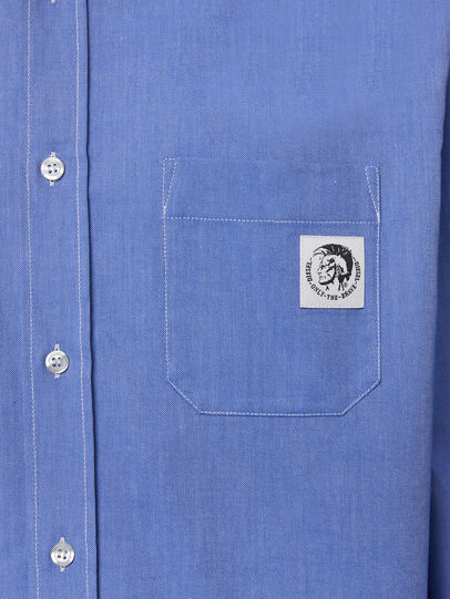Diesel - S-JAMES, Light Blue - Shirts - Image 3