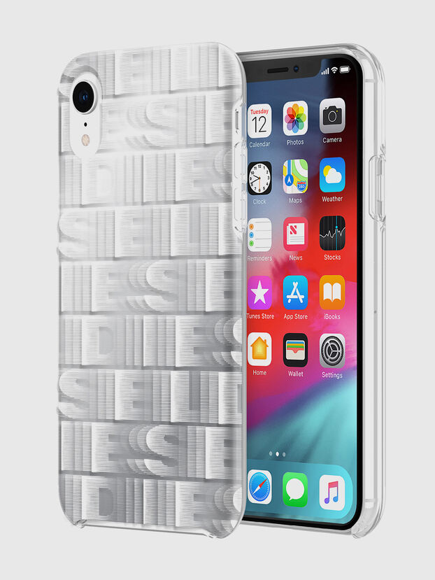 DIESEL PRINTED CO-MOLD CASE FOR IPHONE XR, White - Cases
