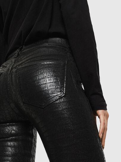 Diesel - Slandy 0094S, Black/Dark grey - Jeans - Image 4
