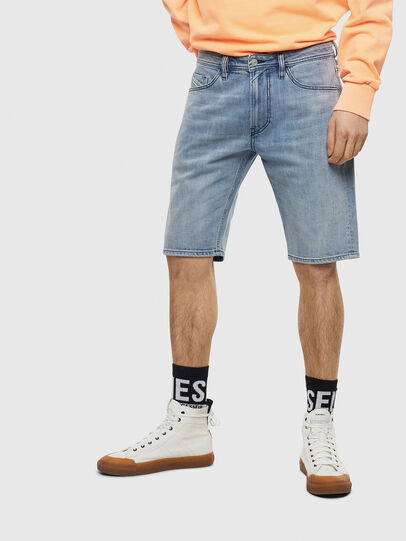 Diesel - THOSHORT, Light Blue - Shorts - Image 1