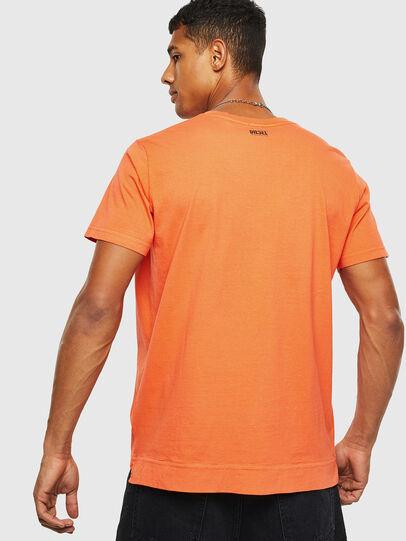 Diesel - T-THEA, Orange - T-Shirts - Image 2