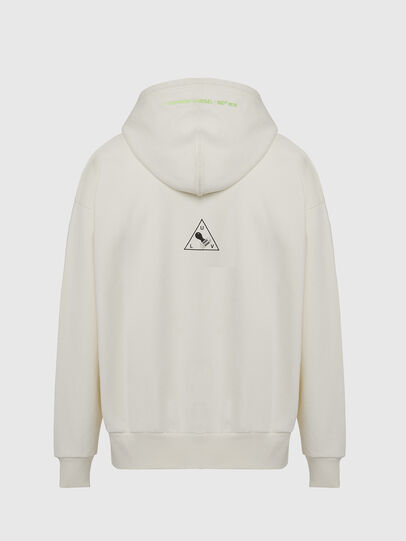 Diesel - S-ALBY-X2, White - Sweaters - Image 2