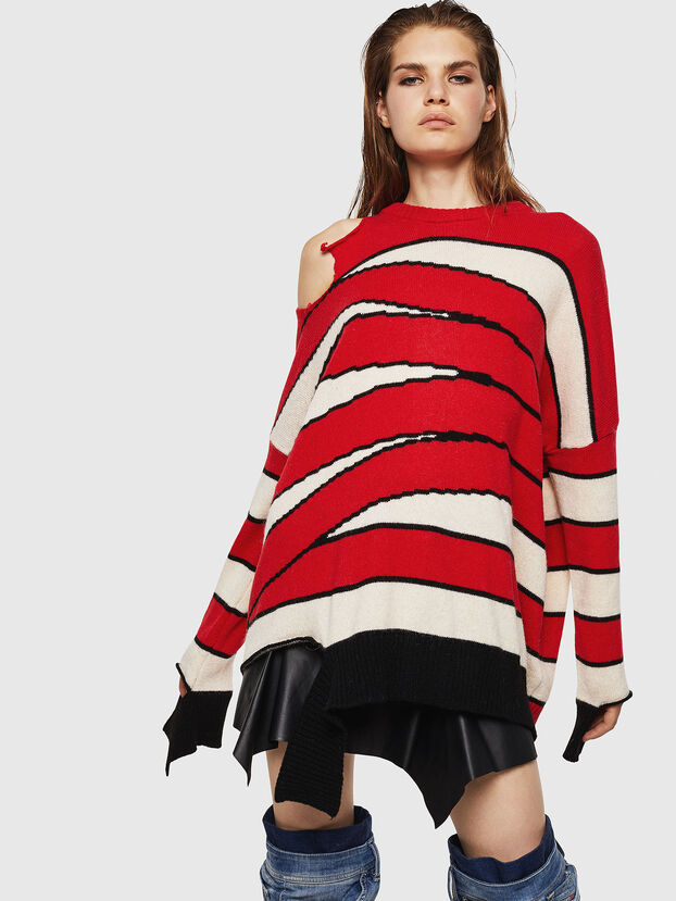 M-PAPERY, Red - Knitwear