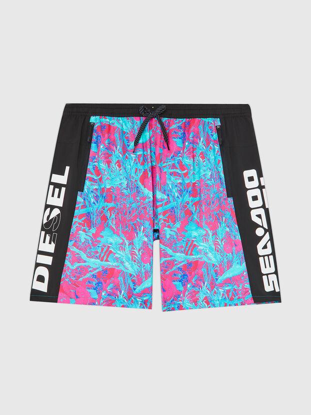BMBX-TUNADOO, Pink/Blue - Swim shorts