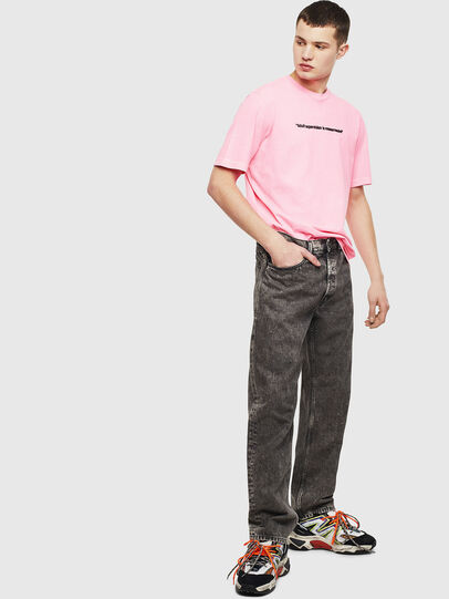 Diesel - T-JUST-NEON, Pink - T-Shirts - Image 8