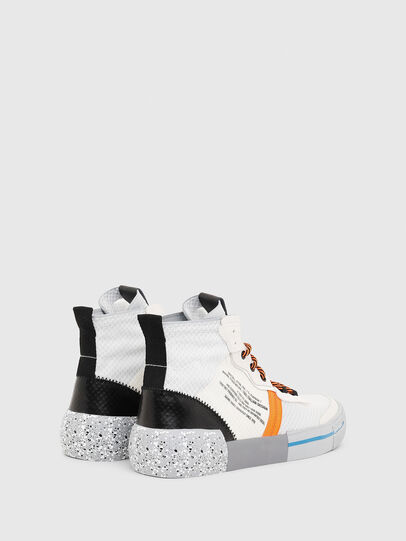 Diesel - S-DESE MID RC, Multicolor/White - Sneakers - Image 3