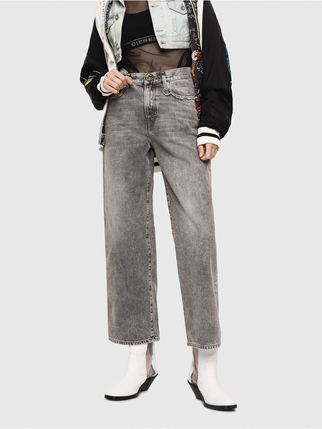 Diesel - Widee 8880X, Light Grey - Jeans - Image 1