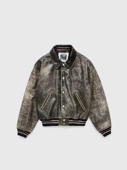 Diesel - DxD-2, Black - Leather jackets - Image 1