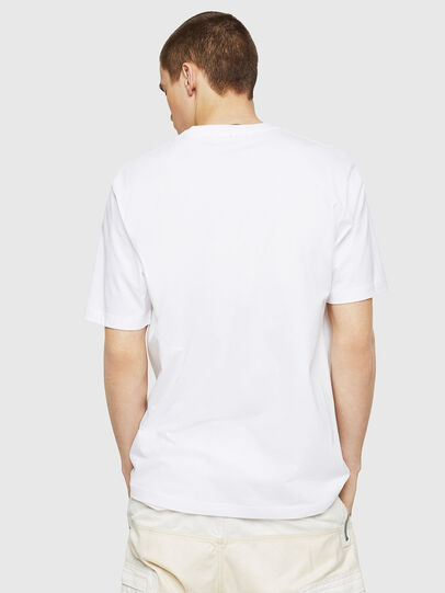Diesel - T-JUST-COPY, White - T-Shirts - Image 2